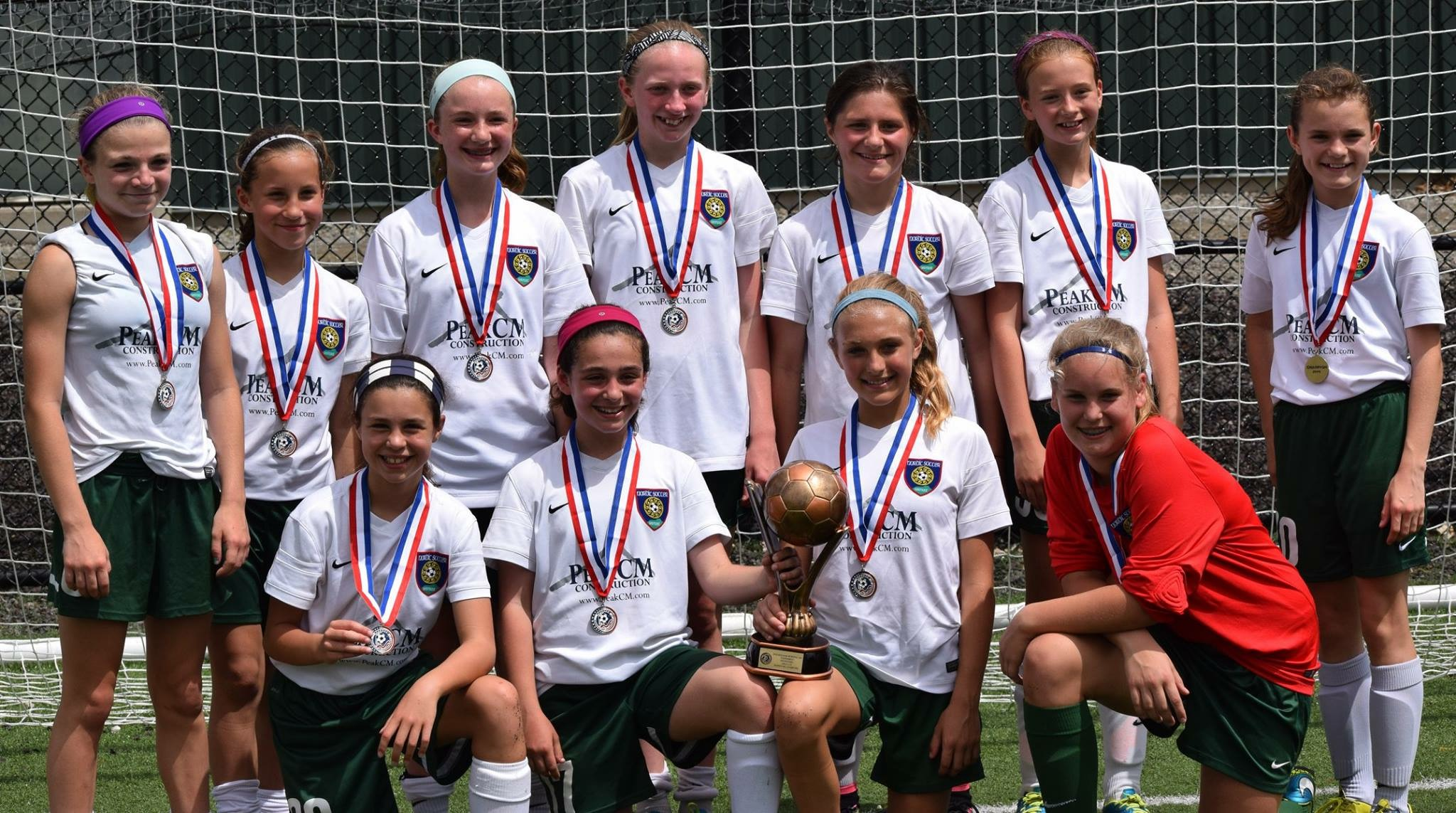 Congrats to our U12GP - Needham Tournament Champions!